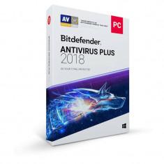 BitDefender Antivirus Plus 2018 1 an 3 PC New License Retail Box