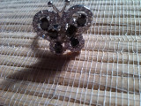 Inel gold filled cu zirconie fluture marime 6.5