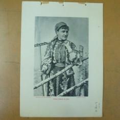 Bran costum national Brasov vedere 1904 Bucuresti Antoniu Socec