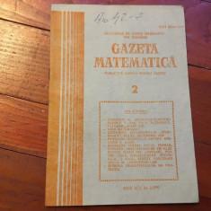 Revista / Gazeta matematica anul XCV nr 2 / 1990 ! - Revista scolara