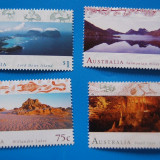 AUSTRALIA-Peisaje-serie completa-nestamp, -mnh - Timbre straine, Stampilat