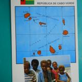 HOPCT 32647 COPII DIN...CABO VERDE AFRICA -NECIRCULATA, Printata