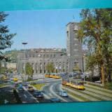HOPCT 32645 GERMANIA STUTTGART GARA CENTRALA / TRAMVAI -NECIRCULATA, Printata