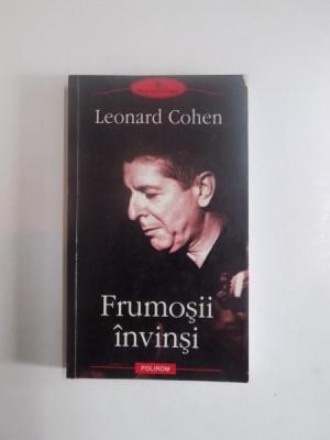 FRUMOSII INVINSI de LEONARD COHEN, 2003 foto