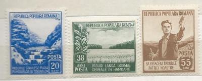 1953 Romania,LP 348-Luna Padurii -MH foto