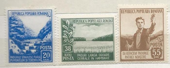 1953 Romania,LP 348-Luna Padurii -MH foto mare