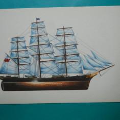 HOPCT 32611 KLIPPER CUTTY SHARK -NAVE VELIERE-GERMANIA-VAPOR-NECIRCULATA, Printata