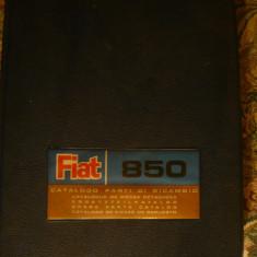 Catalog -Piese de schimb FIAT-850 - Ed. 1967 - desen de carte tehnica