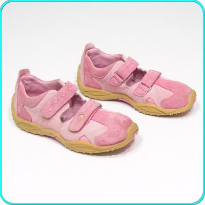 DE FIRMA → Pantofi din piele, comozi, aerisiti, usori, ELEFANTEN → fete | nr. 30 foto