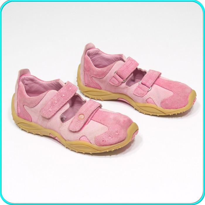 DE FIRMA → Pantofi din piele, comozi, aerisiti, usori, ELEFANTEN → fete | nr. 30 foto mare