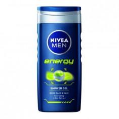 Gel de dus Nivea Men Energy, 500ml