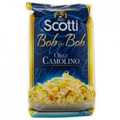 Orez bob cu bob camolino Scotti, 1kg