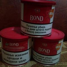 Tutun pentru rulat Bond rosu cutie 80 grame--tutun rulat Bucuresti