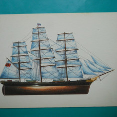 HOPCT 32607 KLIPPER CUTTY SHARK -NAVE VELIERE GERMANIA -VAPOR-NECIRCULATA, Printata