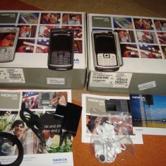 NOKIA N70 ORIGINAL 100% NOI LA CUTIE - 239 LEI !!! - Telefon Nokia, Argintiu, <1GB, Neblocat, Single SIM, Single core