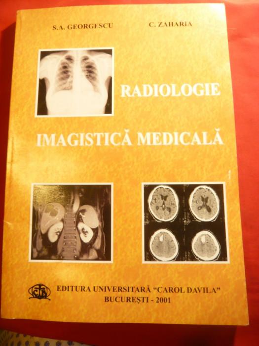 SA Georgescu ,C.Zaharia- Radiologie Imagistica Medicala - Ed. Universitara 2001 foto mare