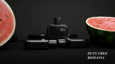 Parfum Original Lacoste Eau De Lacoste L12.12 Noir EDT 100ml Tester + CADOU foto