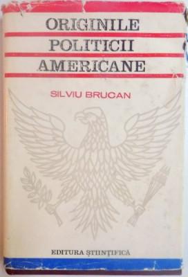 ORIGINILE POLITICII AMERICANE de SILVIU BRUCAN , 1968 foto