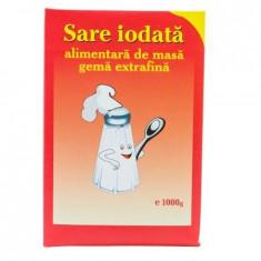 Sare alimentara de masa iodata gema extrafina Salrom, 1kg - Condiment