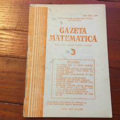 Revista / Gazeta matematica anul XCV nr 3 / 1990 ! - Revista scolara