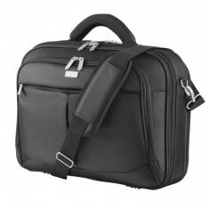 Geanta laptop Trust Sydney 16 inch black, Nailon, Negru