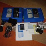 NOKIA C3-01 ORIGINAL 100% NOI LA CUTIE - 249 LEI !!! - Telefon mobil Nokia C3-01, Argintiu, Neblocat