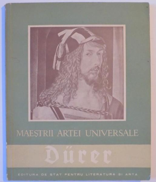 MAESTRII ARTEI UNIVERSALE de ALBRECHT DURER 1471-1528 , 1957 foto mare