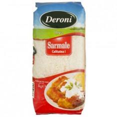 Orez cu bob rotund pentru sarmale Deroni, 1kg