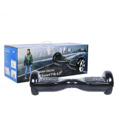 Resigilat : Scooter electric PNI Escort T1B roti 6.5 inch cu LED-uri fata, viteza - Hoverboard