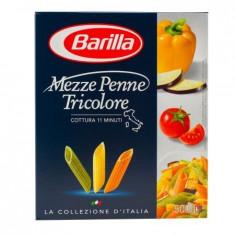 Paste fainoase Mezze penne tricolori Barilla, 500g