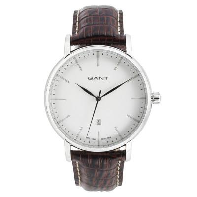 Set cadou Gant-ceas si portcard din piele naturala foto