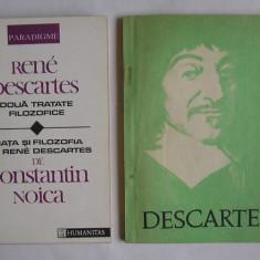 Rene Descartes - Doua Tratate Filozofice + Discurs Despre Metoda (doua carti) - Filosofie