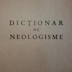 FLORIN MARCU - CONSTANT MANECA - DICTIONAR DE NEOLOGISME
