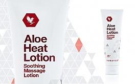 Aloe Heat Lotion foto mare