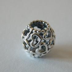 Talisman Pandora autentic 790964 Deschide-ti inima - Pandantiv argint
