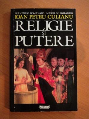RELIGIE SI PUTERE- ION PETRU CULIANU foto