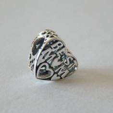 Talisman Pandora autentic 791882 Cea mai buna mama - Pandantiv argint