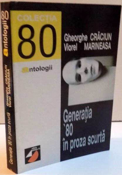 GENERATIA ' 80 IN PROZA SCURTA , 1998 foto mare