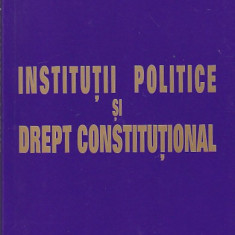 CRISTIAN IONESCU - INSTITUTII POLITICE SI DREPT CONSTITUTIONAL - Carte Drept constitutional