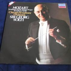 Mozart/ George Solti - Symphony No.38 & No.39 _ vinyl, LP _ Decca (UK) - Muzica Clasica decca classics, VINIL