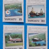 VANUATU-VAPOARE-serie completa-nestamp, -mnh - Timbre straine, Stampilat