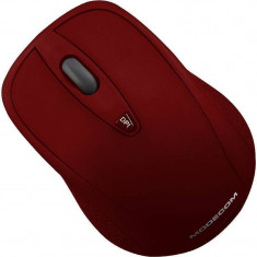 Mouse wireless Modecom MC-WM4 Red, Optica
