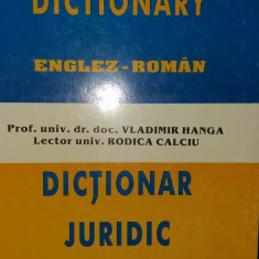 DICTIONAR JURIDIC ENGLEZ-ROMAN - LEGAL DICTIONARY