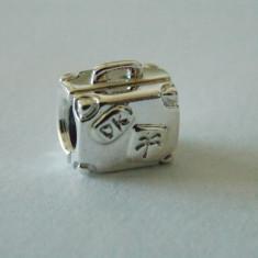 Talisman Pandora autentic 790362 Servieta - Pandantiv argint