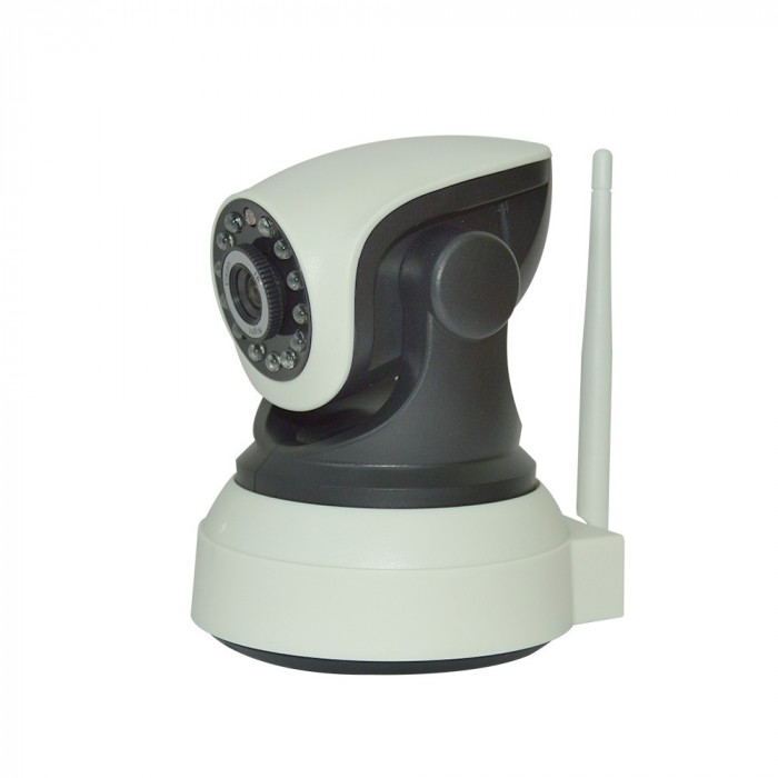Resigilat : Camera cu IP PNI IP1.0MP cu fir si wireless are capacitate de rotire s