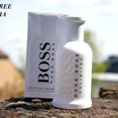 Parfum Original Hugo Boss Boss No.6 Bottled Unlimited Tester EDT 100 ml, Apa de toaleta