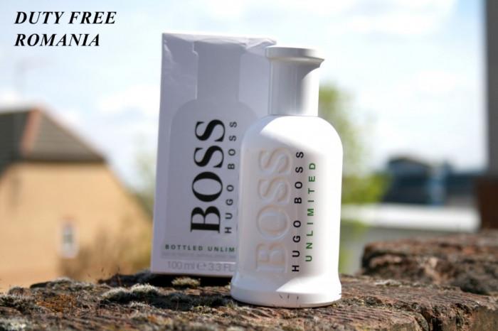 Parfum Original Hugo Boss Boss No.6 Bottled Unlimited Tester EDT 100 ml foto mare