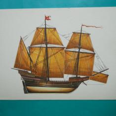 HOPCT 32618 VENEZIANISCHES KRIGSSCHIFF -NAVE VELIERE-GERMANIA-VAPOR-NECIRCULATA, Printata