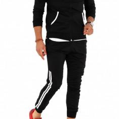 Trening barbati negru - COLECTIE NOUA - 9007, Marime: S, M, L, XL, Culoare: Din imagine