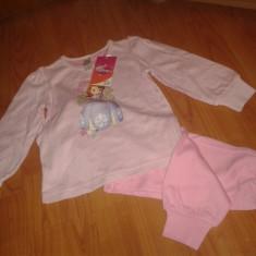 Pijama copii, fete, C&A, NOI, Sofia, Elsa, Ana, Frozen, Hello Kitty, masura 92, Marime: Alta, Culoare: Mov, Rosu